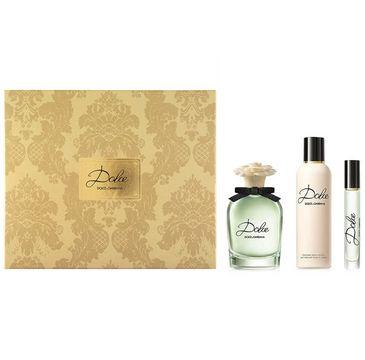 Dolce & Gabbana Dolce zestaw woda perfumowana spray 75ml + woda perfumowana spray 10ml + balsam do ciała 100ml (1 szt.)