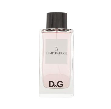 Dolce&Gabbana 3 l'Imperatrice woda toaletowa spray 100ml
