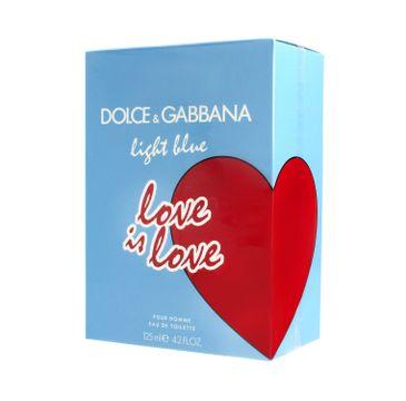 Dolce Gabbana – Light Blue Love is Love Pour Homme Woda Toaletowa (125 ml )