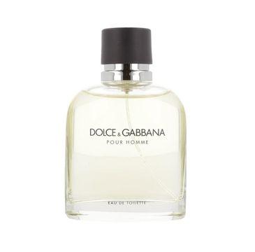 Dolce&Gabbana Pour Homme woda toaletowa spray 125ml
