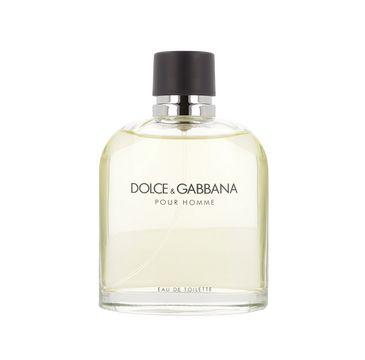 Dolce&Gabbana Pour Homme woda toaletowa spray 200ml