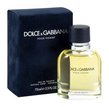 Dolce&Gabbana Pour Homme woda toaletowa spray 75ml