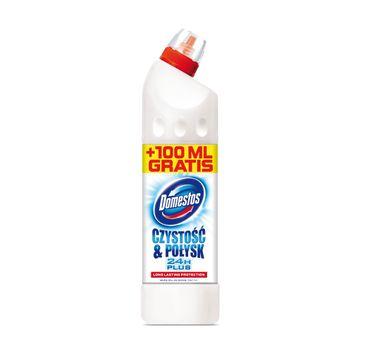 Domestos Czystość i Połysk płyn WC czyszcząco dezynfekujący 650 + 100 ml
