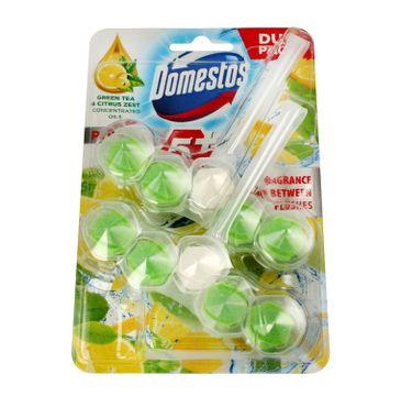 Domestos – Green Tea Duo Kostka WC Power 5 koszyk  (2x55 g)