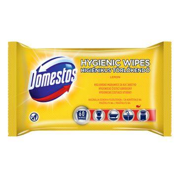 Domestos Hygienic Wipes chusteczki do czyszczenia Lemon 60szt