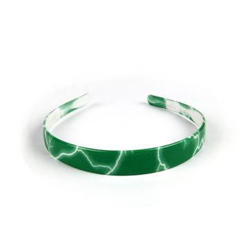 Donegal opaska do włosów szeroka zielona (FA-5276) 1 szt.