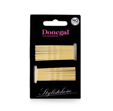 Donegal wsuwka do włosów HQ 5 cm beżowa (5092) 1 op. - 24 szt.