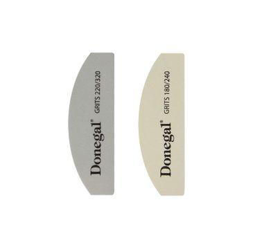 DONEGAL ZESTAW DO MANICURE - pilnik 180/240+polerka 220/320 (2080) 1op.