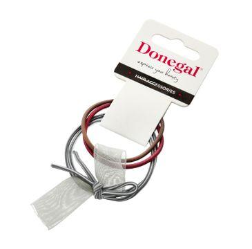 Donegal Gumki do włosów FA-5640 (3 szt.)