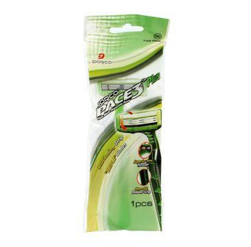 Dorco Pace 3 Plus Green Tea Maszynka jednorazowa męska - 3 ostrza 1 szt.