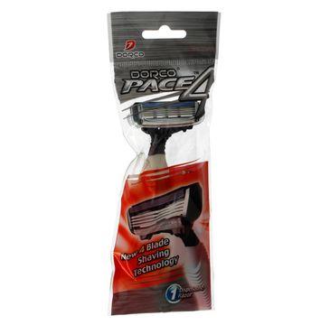 Dorco Pace 4 Maszynka jednorazowa męska - 4 ostrza 1 szt.