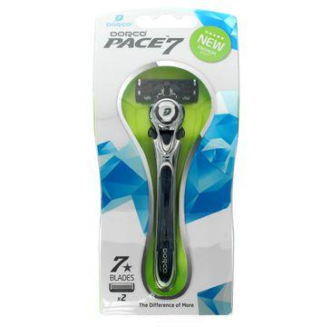 Dorco Pace 7 maszynka do golenia systemowa męska 7 ostrzy 1 szt.