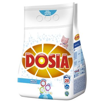 Dosia Multi Powder proszek do prania do bieli 1,4kg
