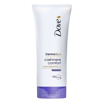 Dove Derma Spa Cashmere Comfort Body Lotion balsam do ciała do bardzo suchej skóry (200 ml)