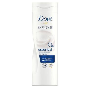 Dove Essential Nourishment mleczko do ciała odżywcze 400 ml