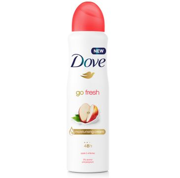 Dove Go Fresh Apple & White Tea dezodorant antyperspirant w aerozolu dla kobiet 150ml