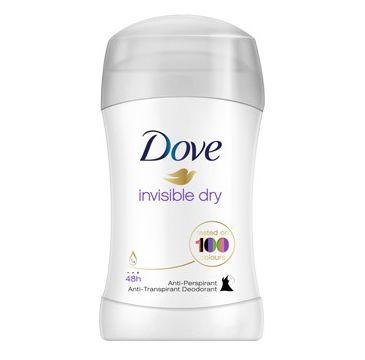 Dove Invisible Dry antyperspirant w sztyfcie delikatny 40 ml