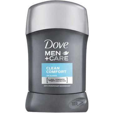 Dove men Antyperspiranty Men Care Clean Comfort antyperspirant w sztyfcie ochrona do 48 h 50 ml