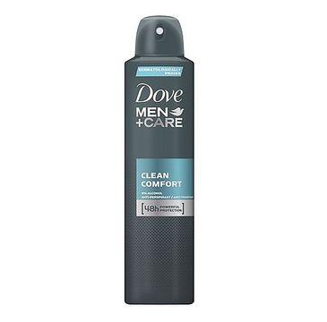 Dove Men+Care Clean Comfort antyperspirant spray 250ml