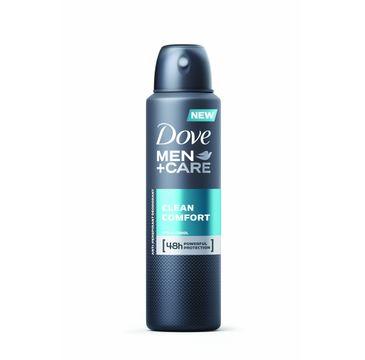Dove Men Care Clean Comfort antyperspirant w sprayu męski 150 ml