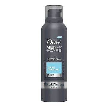 Dove Men+Care Clean Comfort Shower Foam pianka do mycia ciała 200ml