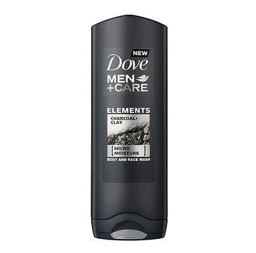 Dove Men+Care Elements Charcoal+Clay Body & Face Wash żel pod prysznic 250ml