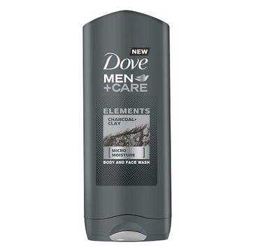 Dove Men+Care Elements Charcoal+Clay Body & Face Wash żel pod prysznic 400ml