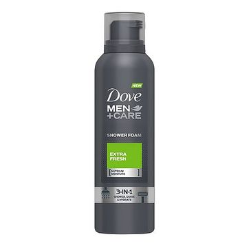 Dove Men+Care Extra Fresh Comfort Shower Foam pianka do mycia ciała 200ml