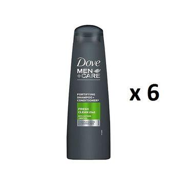 Dove Men+Care Fresh Clean 2in1 Shampoo + Conditioner 2w1 szampon + odżywka 6x250ml
