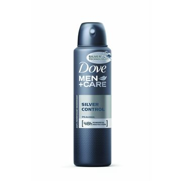 Dove Men Care Silver Control antyperspirant w sprayu męski 150 ml