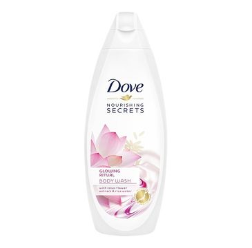 Dove Nourishing Secrets Glowing Ritual Body Wash żel pod prysznic Lotus Flower Extract & Rice Water 750ml