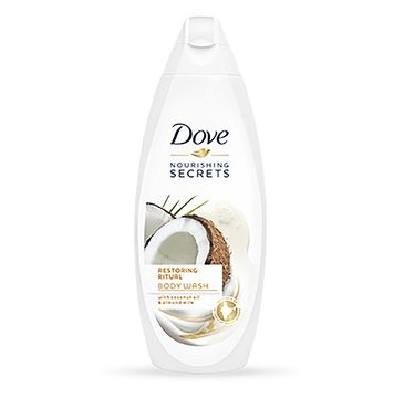 Dove Nourishing Secrets Restoring Ritual Body Wash żel pod prysznic Coconut Oil & Almond Milk 500ml