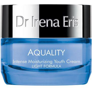 Dr Irena Eris Aquality Intense Moisturizing Youth Cream Light Formula intensywnie nawilżający krem odmładzający (50 ml)