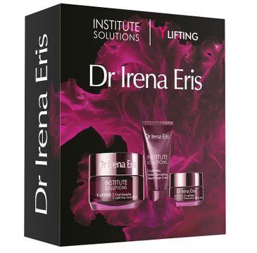 Dr Irena Eris Institute Solutions Y-Lifting zestaw modelująco-liftingujący krem na dzień 50ml + remodelująco-naprawczy krem na noc 30ml + liftingujące serum w kremie pod oczy 15ml