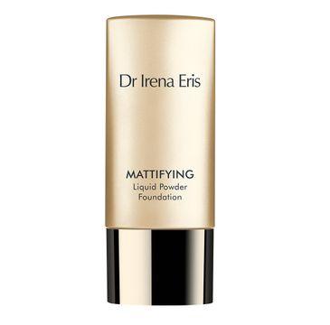 Dr Irena Eris Mattifying Liquid Powder Foundation puder w płynie matujący 60 Dark Beige (30 ml)