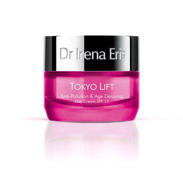 Dr Irena Eris Tokyo Lift Anti-Pollution & Age Delaying Day Cream ochronny krem przeciwzmarszczkowy na dzień SPF15 (50 ml)