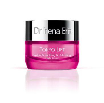 Dr Irena Eris Tokyo Lift Instant Smoothing & Detoxifing Night Cream wygładzający krem detoksykujący na noc (50 ml)