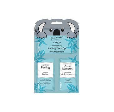 Dr  Koala – zmiękczający zabieg do stóp – peeling + maska-kompres (6 ml)