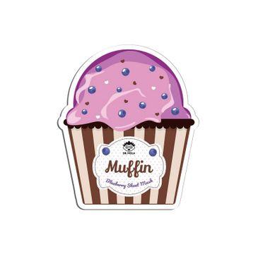 Dr. Mola – Blueberry Muffin Sheet Mask nawilżająca maseczka w płachcie (23 ml)