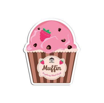 Dr. Mola – Raspberry Muffin Sheet Mask rewitalizująco-nawilżająca maseczka w płachcie (23 ml)