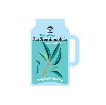 Dr. Mola – Refreshing Tea Tree Smoothie Sheet Mask maseczka w płachcie oczyszczająco-odświeżająca (23 ml)