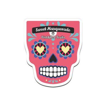 Dr. Mola – Sweet Masquarade Pink & Red Fruits Sheet Mask rewitalizująco-rozświetlająca maseczka w płachcie (23 ml)