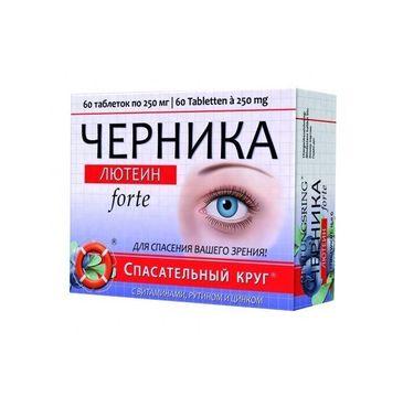 Dr Retter Czernika Lutein Forte suplement diety 60 tabletek