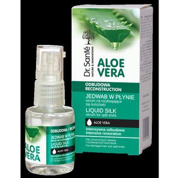 Dr. Sante Aloe Vera serum-jedwab w płynie na rozdwajające końcówki włosów 30 ml