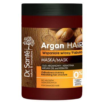Dr. Sante Argan Hair maska do włosów uszkodzonych odbudowująca 1000 ml