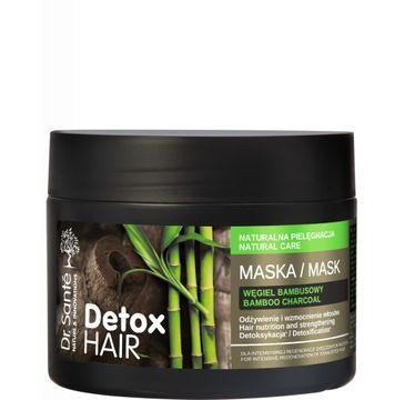 Dr. Sante Detox Hair – maska regenerująca do włosów z węglem bambusowym (300 ml)
