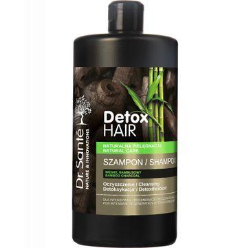 Dr. Sante Detox Hair – szampon regenerujący do włosów z węglem bambusowym (1000 ml)