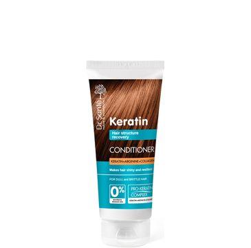 Dr. Sante Keratin Hair odżywka odbudowująca do włosów łamliwych i matowych 200 ml