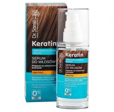 Dr. Sante Keratin Hair serum do włosów łamliwych i matowych odbudowujące 50 ml