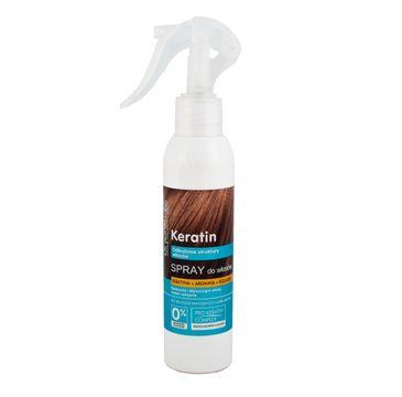Dr. Sante Keratin Hair spray do włosów łamliwych i matowych odbudowujący 150 ml